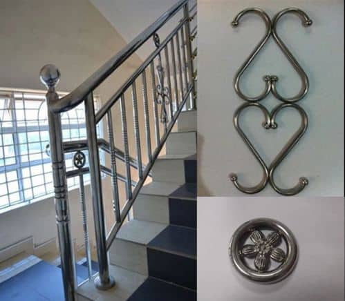 fabricating grills, railings, gates, pipes, tubes and frames, steel