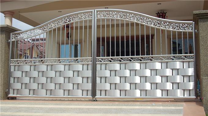 Stainless Steel Innovative Gate Designs
