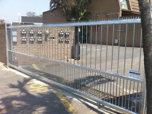 sliding steel gate designs