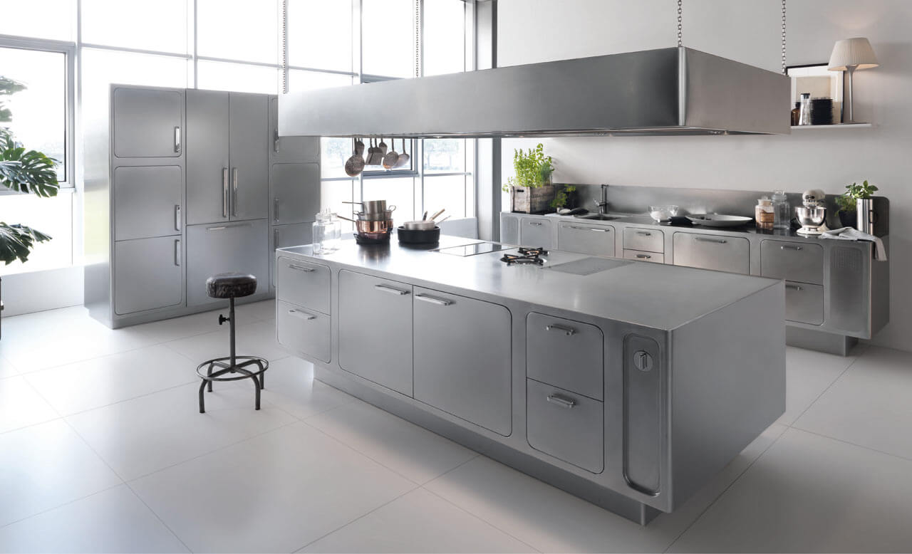 Stainless Steel for Interior Designers: How to make design more efficient using stainless steel.